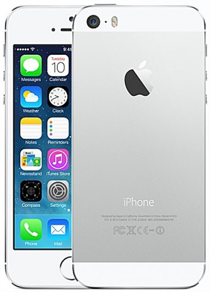 Apple iPhone 5s 16GB Silver как новый