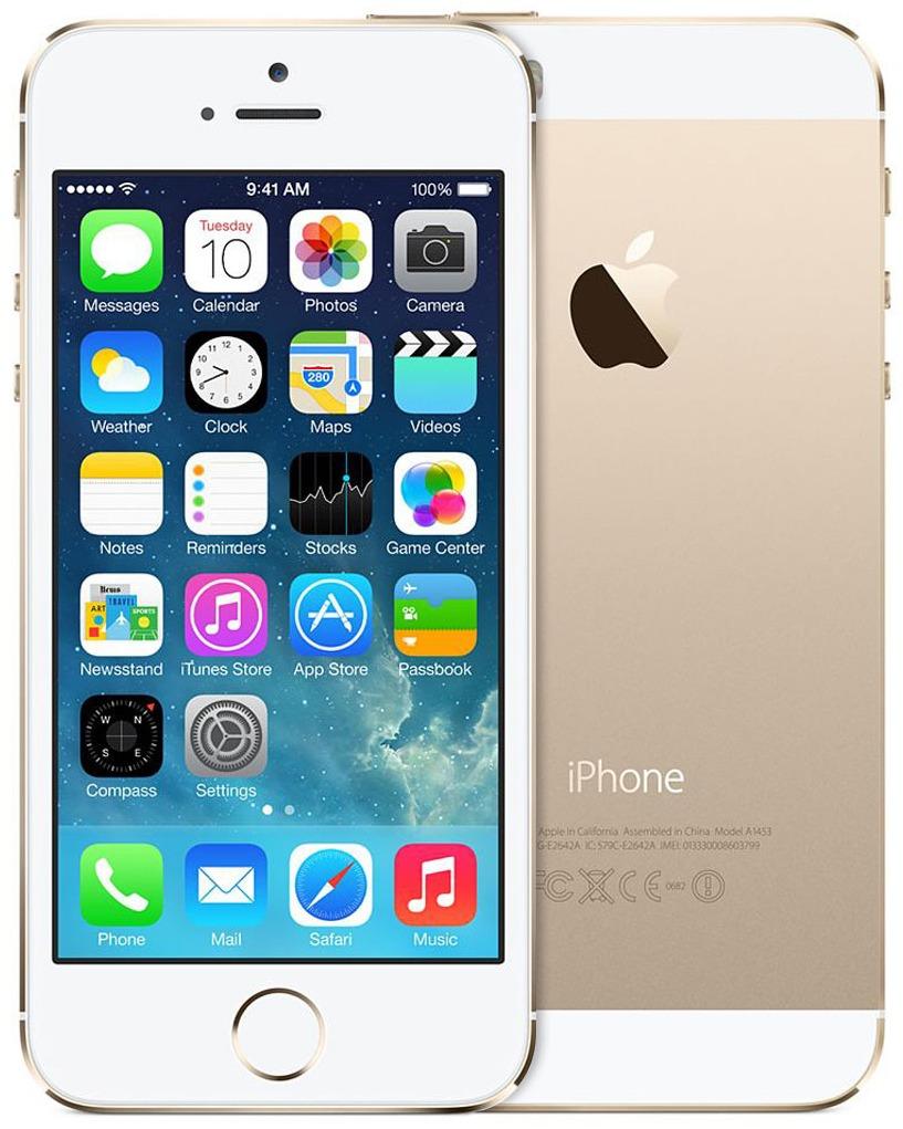 Apple iPhone 5s 16GB Gold как новый