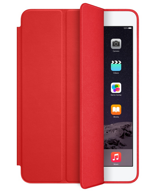 Чехол-книжка Smart Case для iPad mini 4 (красный, реплика)