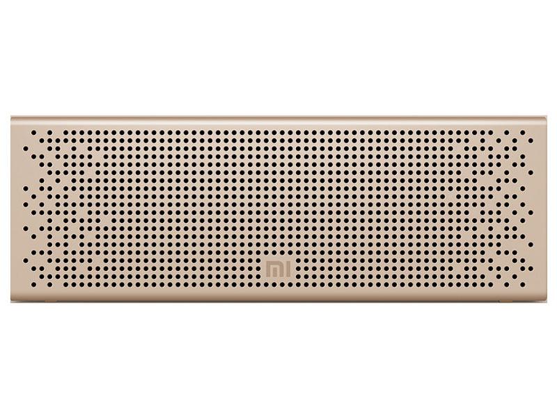 Портативная акустика Xiaomi Square Box 2 (золотая)