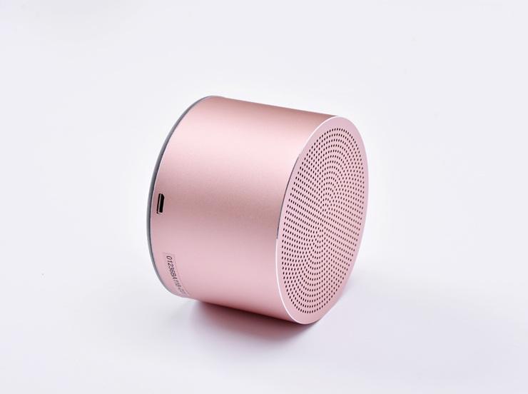 Портативная акустика Miniso BT120 Bluetooth (розовое золото)