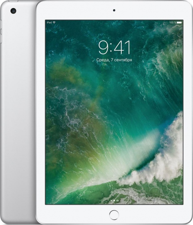 "Планшет Apple iPad 9.7"" Wi-Fi 128 ГБ серебристый (MP2J2)"