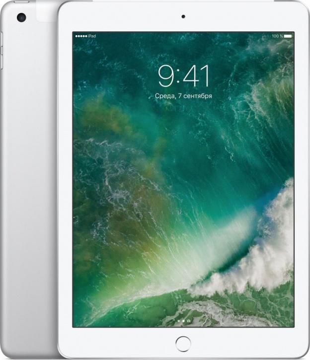 """Планшет Apple iPad 9.7"""" Wi-Fi + Cellular 32 ГБ серебристый (MP1L2)"""