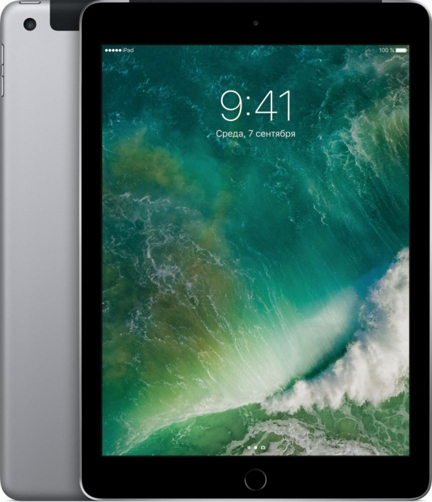 "Планшет Apple iPad 9.7"" Wi-Fi + Cellular 32 ГБ серый космос (MP1J2)"