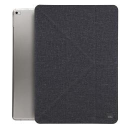 Чехол-книжка Uniq Yorker для Apple New iPad 9.7 2017 (черный)