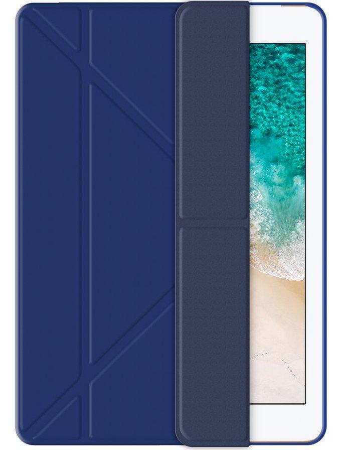Чехол-книжка Wallet Onzo для iPad 9.7 2017/2018 (синий)