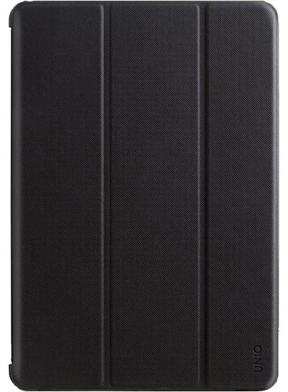 """Чехол-книжка Uniq Transforma Rigor для iPad 9.7"""" с держателем для стилуса 2017/2018 (чёрный)"""
