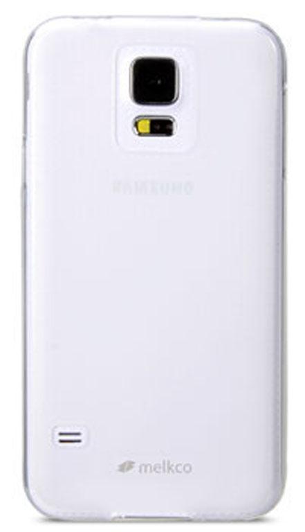 Чехол гелевый Melkco Poly Jacket Ver.2 для Samsung Galaxy S5 i9600 белый