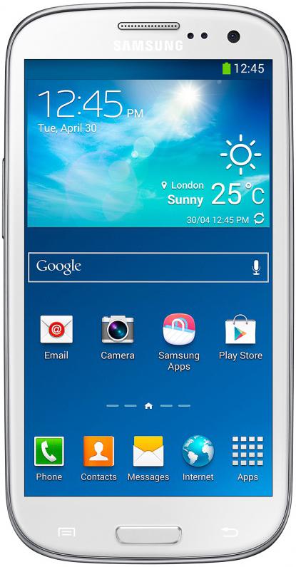 Смартфон Samsung Galaxy SIII Duos GT-I9300 16GB White