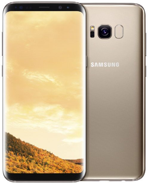 SAMSUNG Galaxy S8+ Gold (желтый топаз)