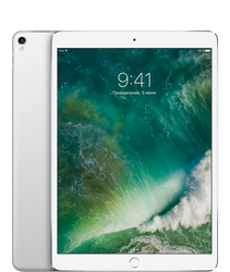 Планшет Apple iPad Pro 10.5 Wi-Fi + 4G (Cellular) 256GB Silver (серебристый)