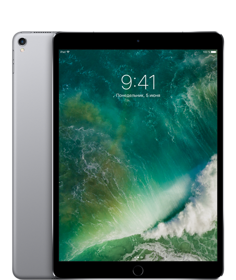 "Планшет Apple iPad Pro 10.5"" Wi-Fi + 4G (Cellular) 512GB Space Gray (черный)"