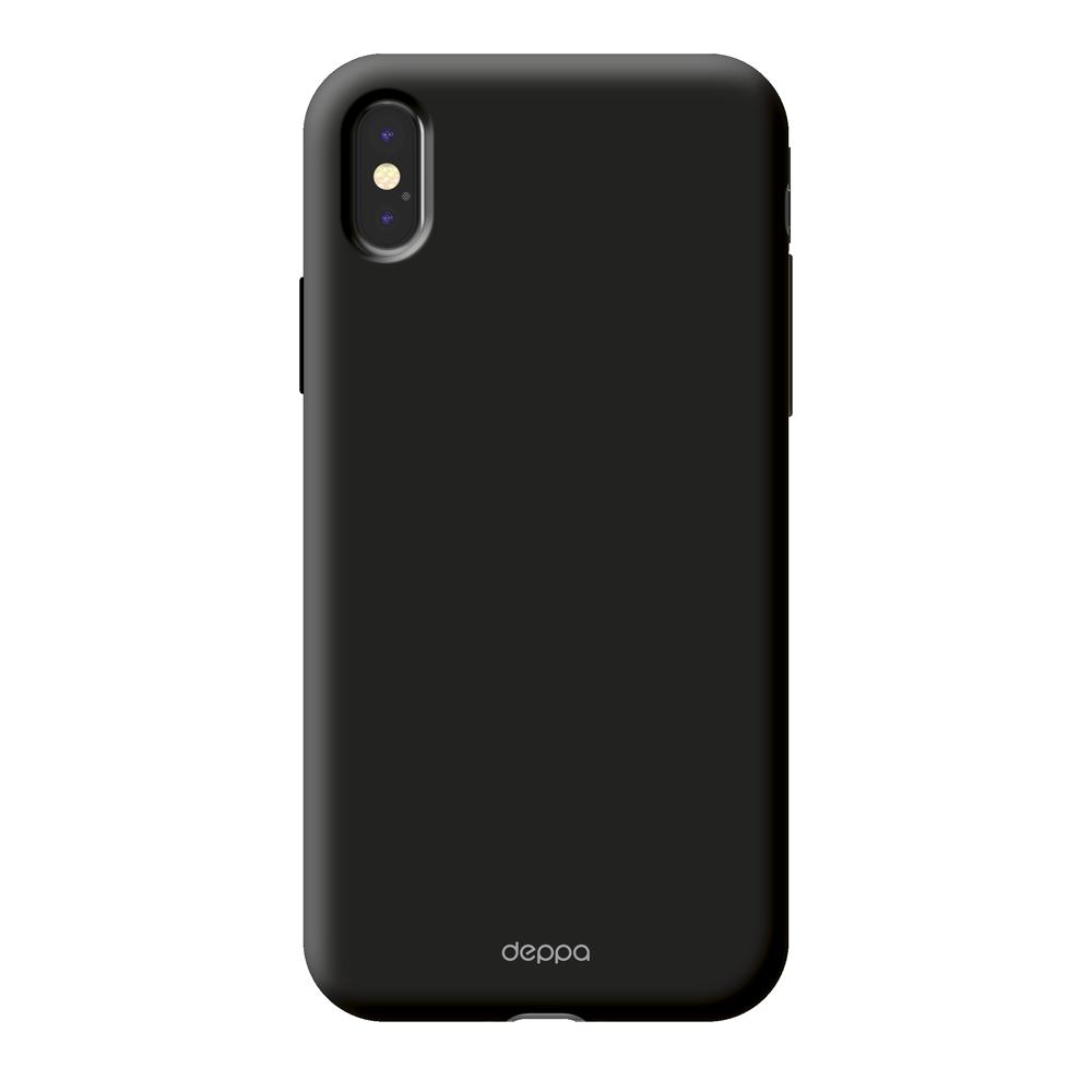 Чехол клип-кейс Deppa Air для Apple iPhone X (черный)