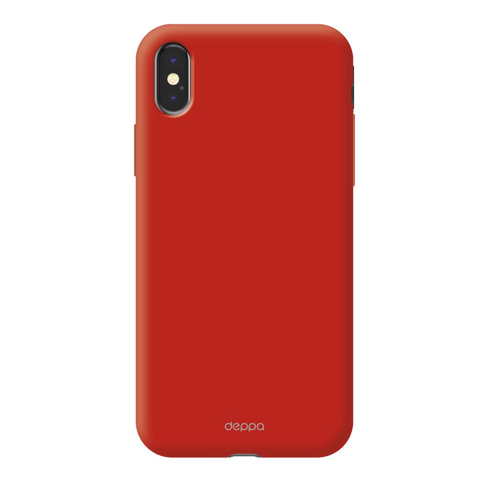 Чехол клип-кейс Deppa Air для Apple iPhone X (красный)