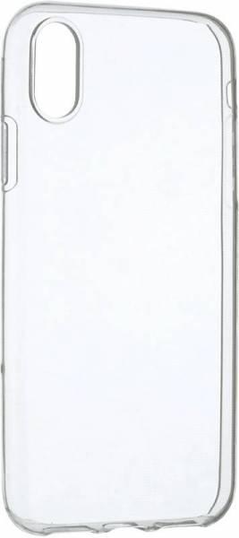 Чехол клип-кейс силиконовый для iPhone X (прозрачный)