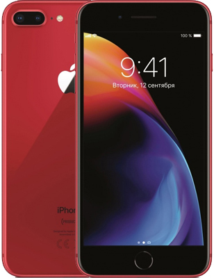 Apple iPhone 8 Plus 64GB (PRODUCT)RED (красный)