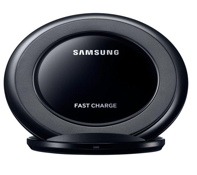 Беспроводная зарядка Samsung EP-NG930 с сетевым зарядным устройством и кабелем micro USB (черная)