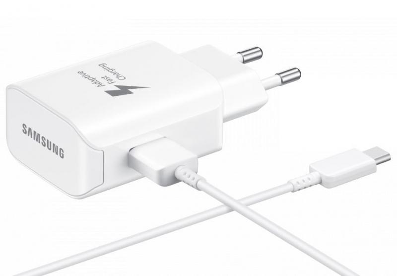 Сетевое зарядное устройство Samsung EP-TA300CWEGRU USB Type-C (белый)