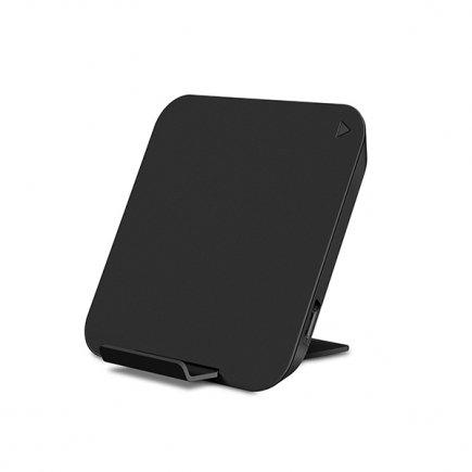 Складное беспроводное зарядное устройство Rock Space W6 Wireless Charger  (черный)