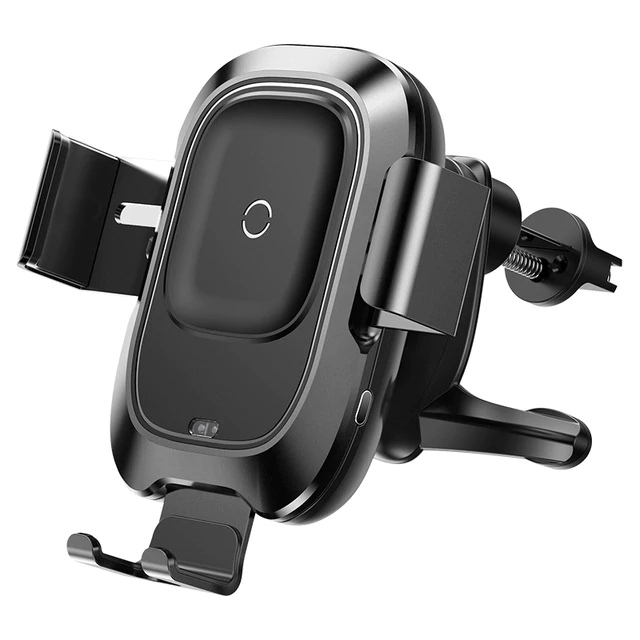 Автомобильное беспроводное зарядное устройство Baseus Smart Vehicle Bracket WXZN-01 (черный)