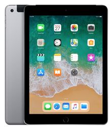 Планшет Apple iPad 9.7'' (2018) 32 Gb Wi-Fi+Cellular [MR6N2] space gray (серый космос)