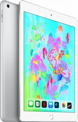 Планшет Apple iPad 9.7'' (2018) 128 Gb Wi-Fi [MR7K2] silver (серебристый)