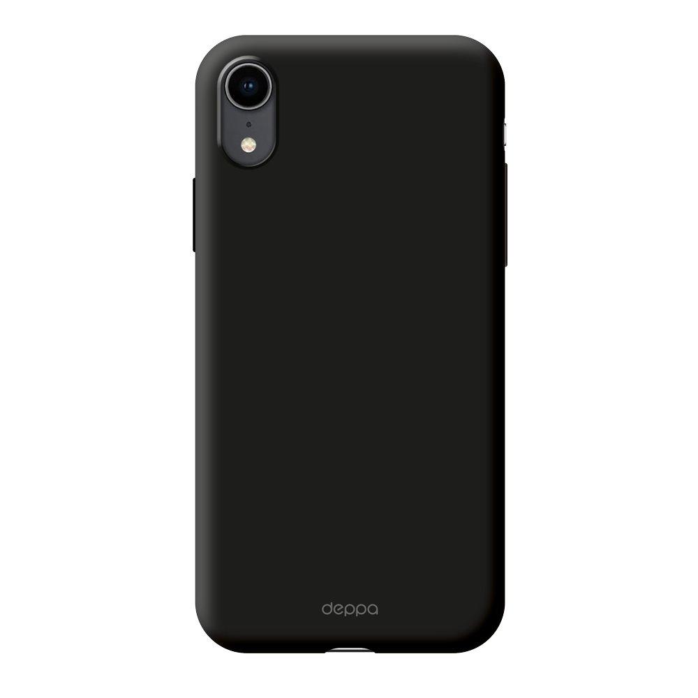 Чехол клип-кейс Deppa Gel для Apple iPhone XR (черный)