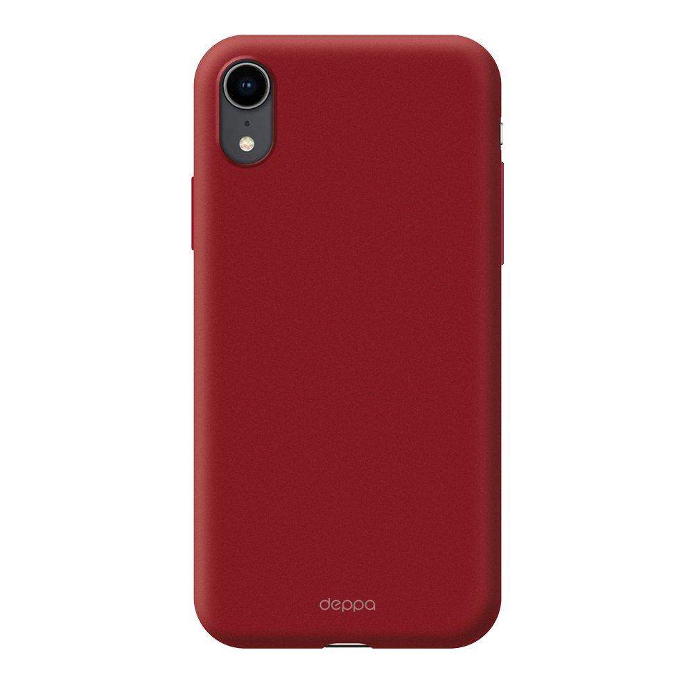 Чехол клип-кейс Deppa Gel для Apple iPhone XR (красный)