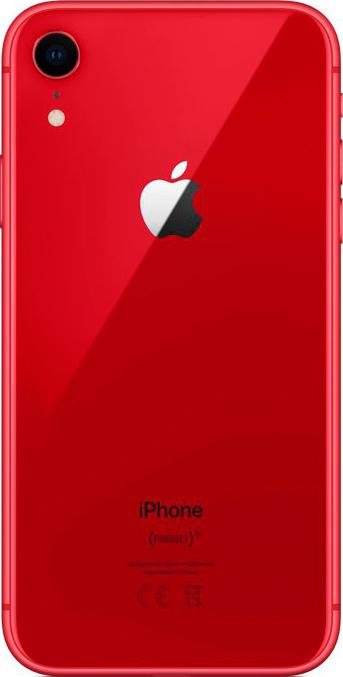 Apple iPhone XR 256GB красный