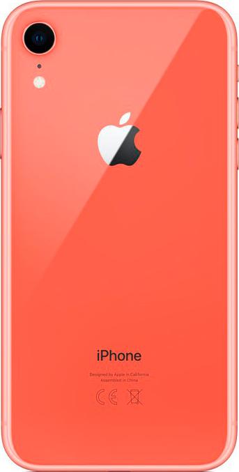 Apple iPhone XR 128GB коралловый