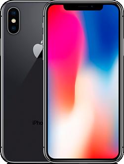 Apple iPhone X 256GB (серый космос) на гарантии