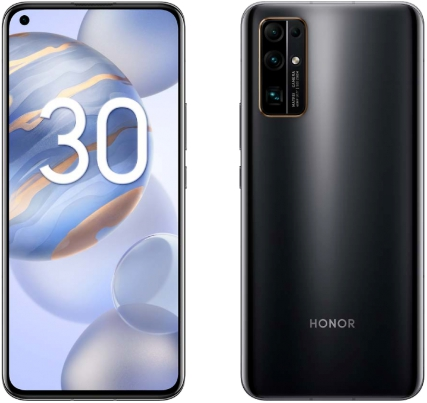 Honor 30 Premium 8/256Gb Midnight Black (полночный черный)