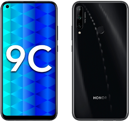 Honor 9C 4/64GB Black (черный) 2020