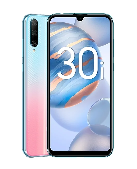 Honor 30i 4/128Gb Icelandic Frost (Ультрафиолетовый закат)