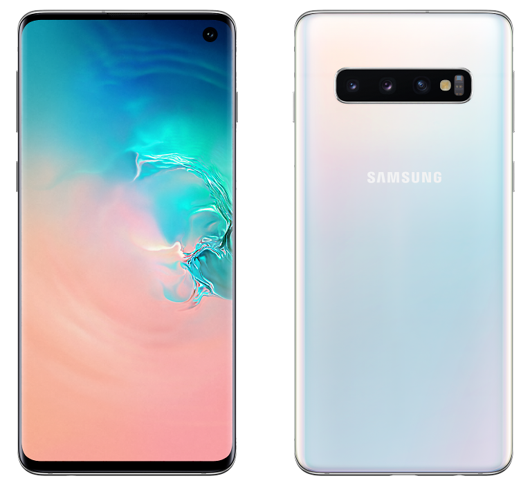 Samsung G973F-DS Galaxy S10 8/128GB Prism White (перламутр)
