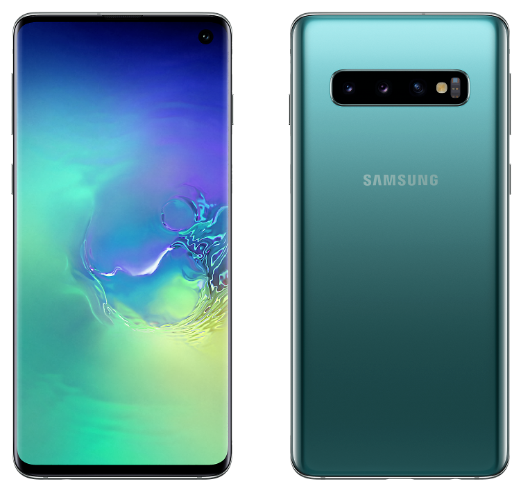 Samsung G973F-DS Galaxy S10 8/128GB Prism Green (аквамарин)