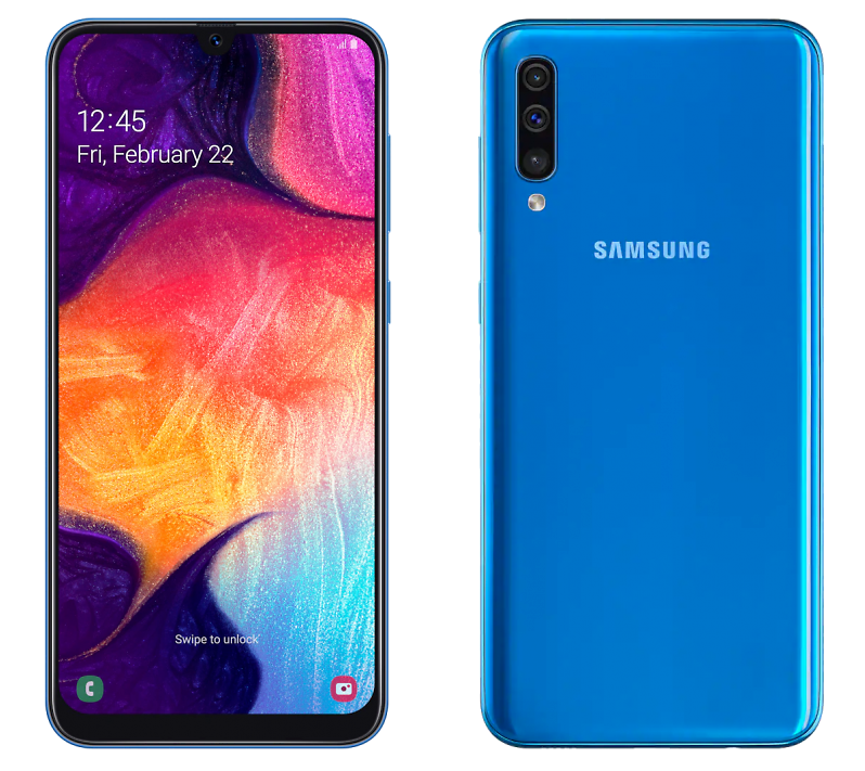 Samsung A505 Galaxy A50 64GB Blue (синий)