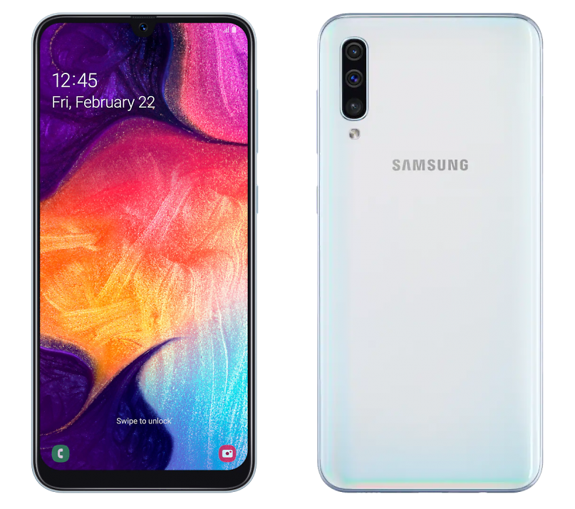 Samsung A505 Galaxy A50 128GB White (белый)