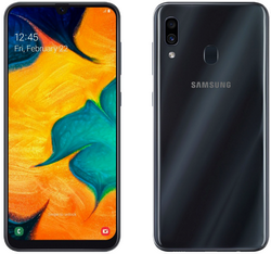 Samsung A305 Galaxy A30 64GB Black (Черный)