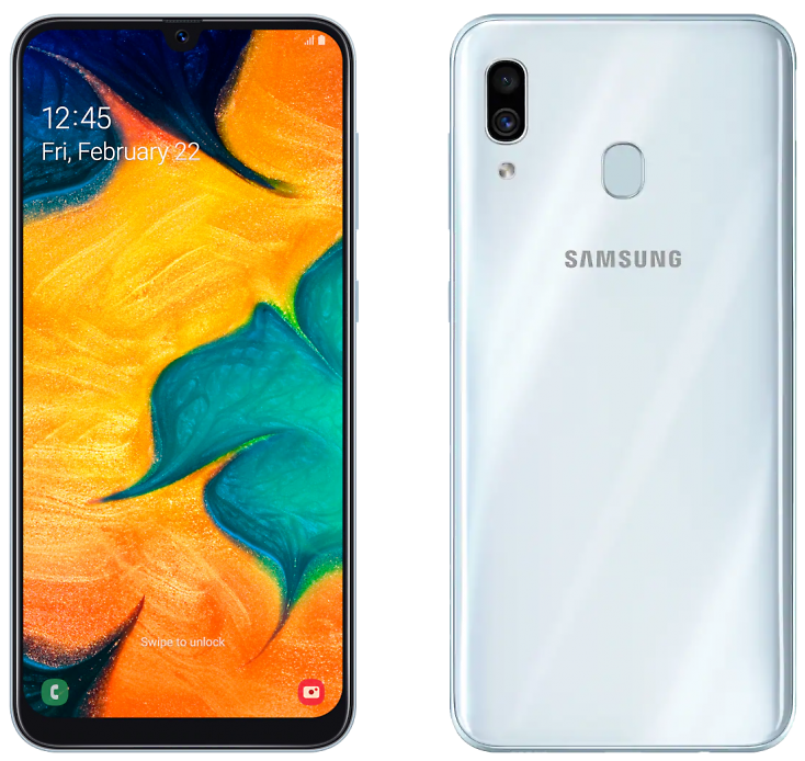 Samsung Galaxy A30 64GB White (Белый)