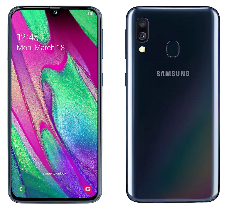 Samsung Galaxy A40 64GB Black (Черный)