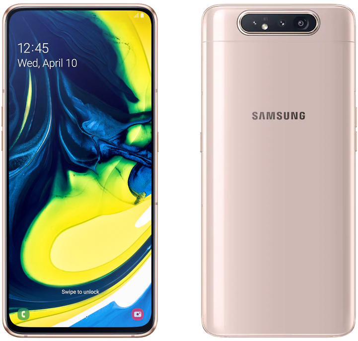 Samsung Galaxy A80 8/128 Gold (Золотистый)
