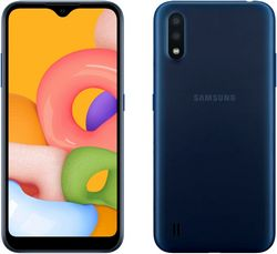 Samsung Galaxy A01 2/16Gb Blue (синий)