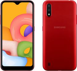 Samsung Galaxy A01 2/16Gb Red (красный)