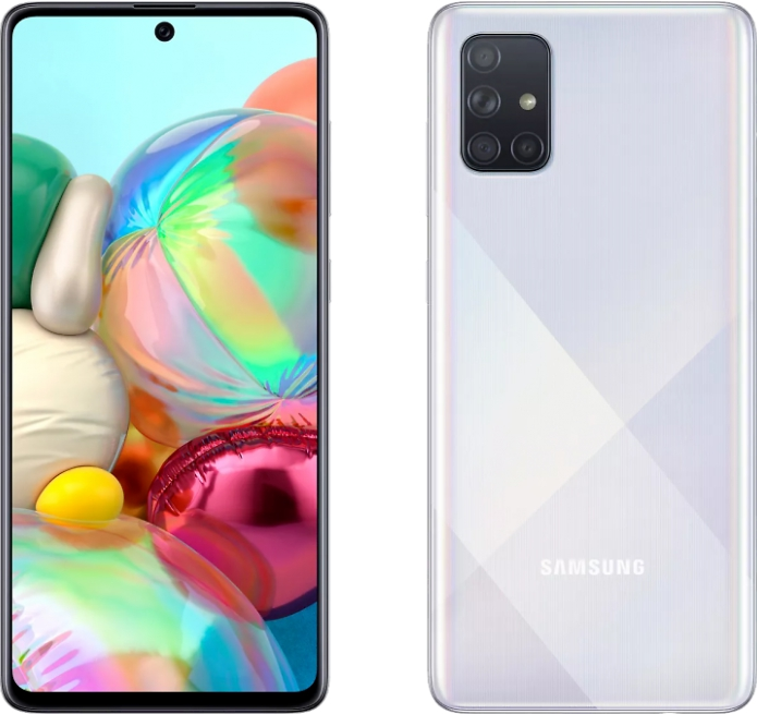 Samsung Galaxy A71 6/128Gb White (Серебряный)