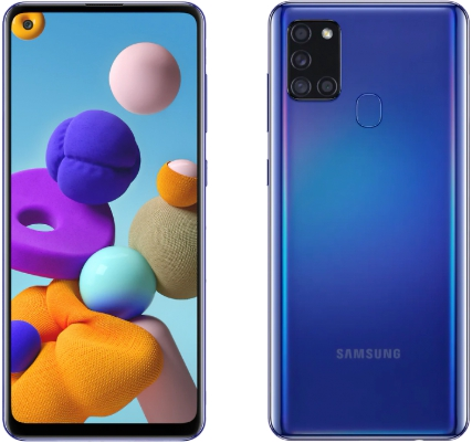 Samsung Galaxy A21s 3/32GB Blue (синий)