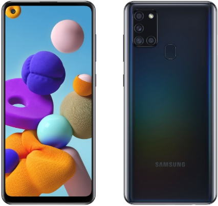 Samsung Galaxy A21s 4/64GB Black (черный)