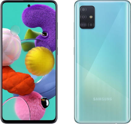 Samsung Galaxy A51 4/64GB Blue (голубой)