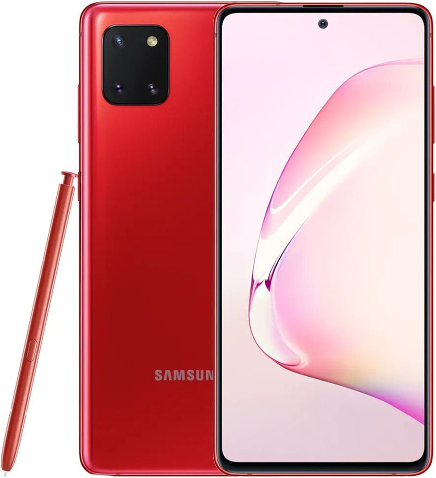 Samsung Galaxy Note 10 Lite 128GB Красный (Red)