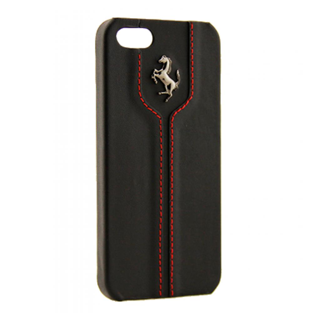 Чехол клип-кейс Ferrari Montecarlo Hard (FEMTHCPMBL) Red  для iPhone 5C черный